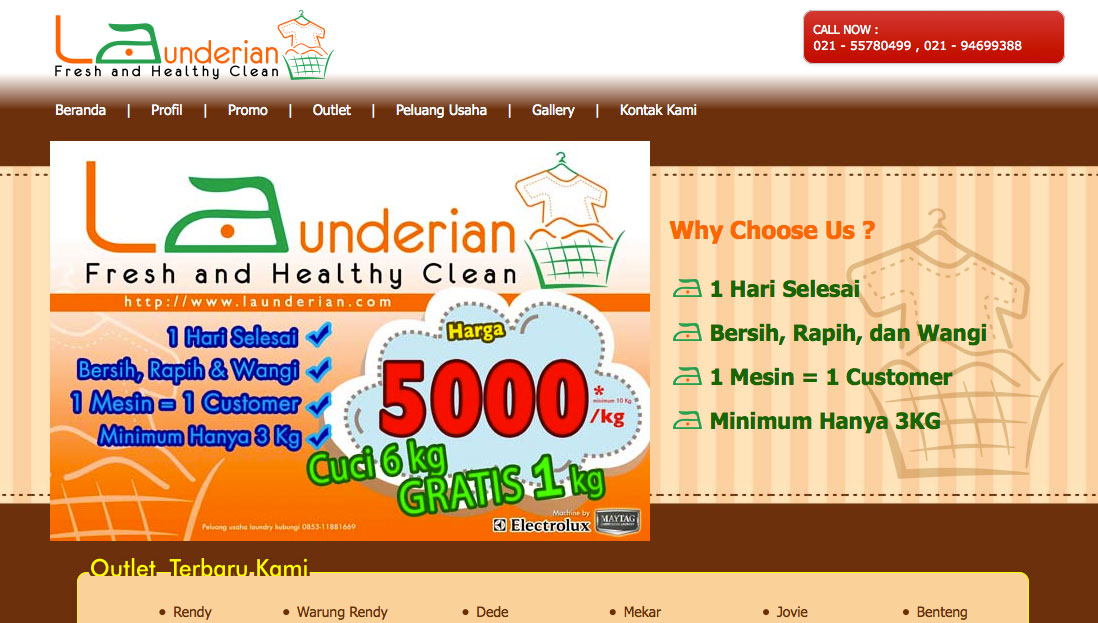 Launderian, Fresh & Healthy Clean