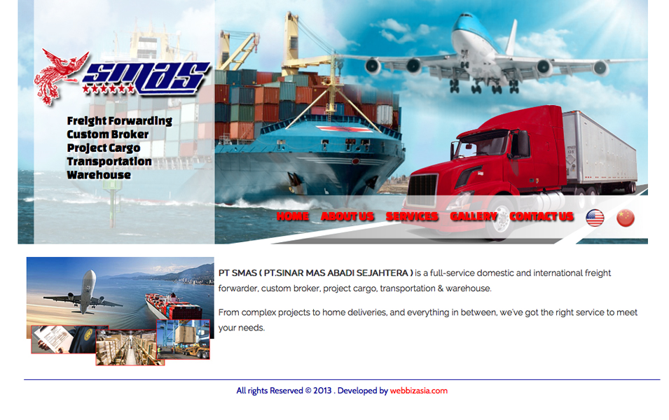 PT SMAS - Indonesia Freight Forwarding